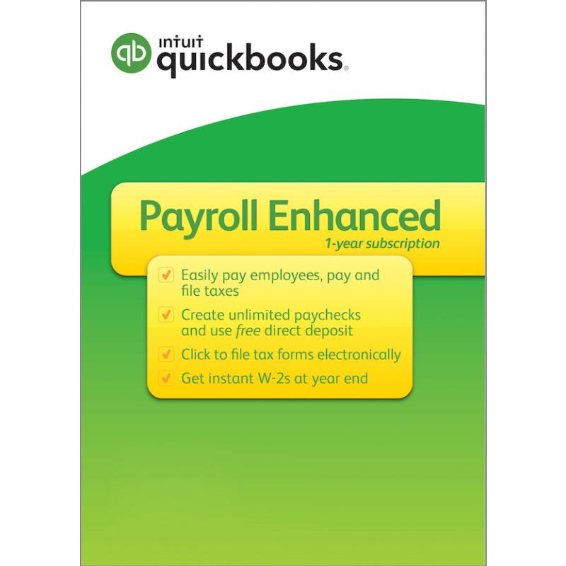 quickbooks payroll enhanced